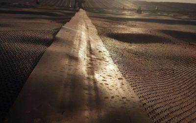 Quais as vantagens da borda lisa na geomembrana texturizada?